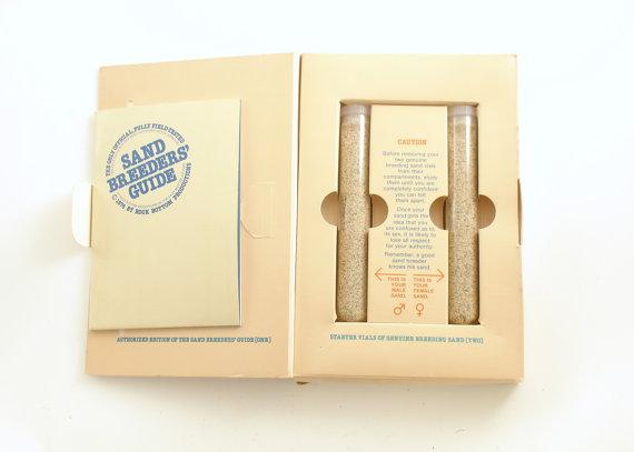 Sand Breeding Kit, bizarrice que não deu certo