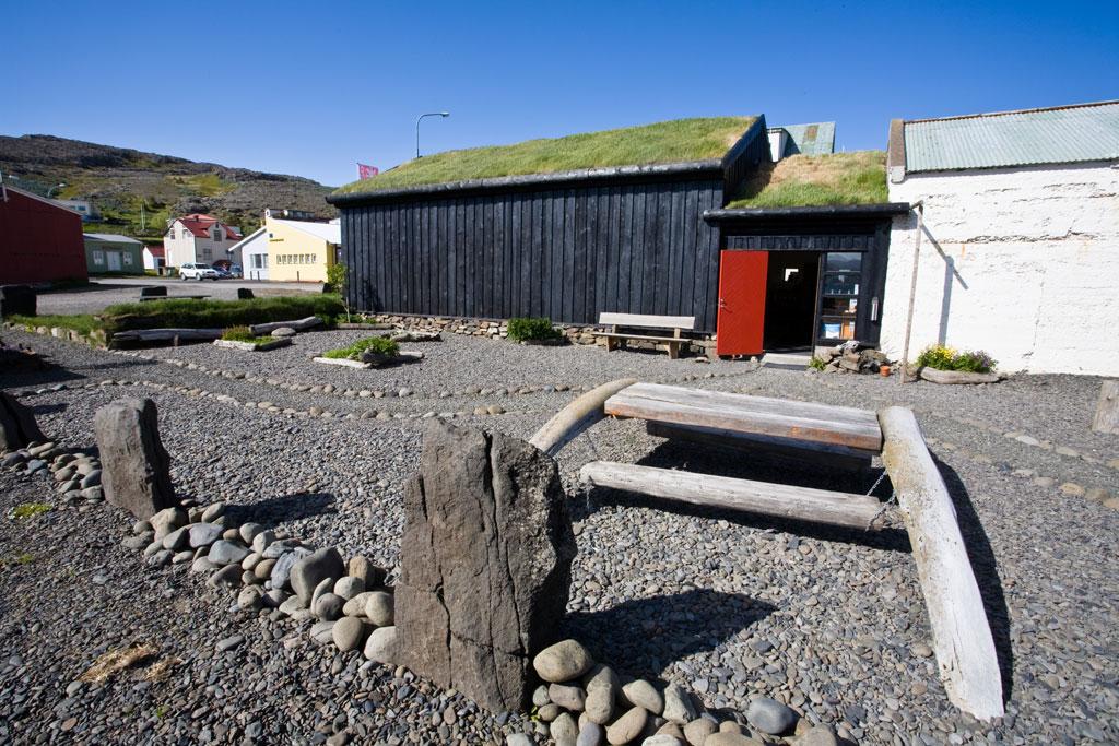 (Museu Islandês de Feitiçaria e Bruxaria em Hólmavik, na Islândia