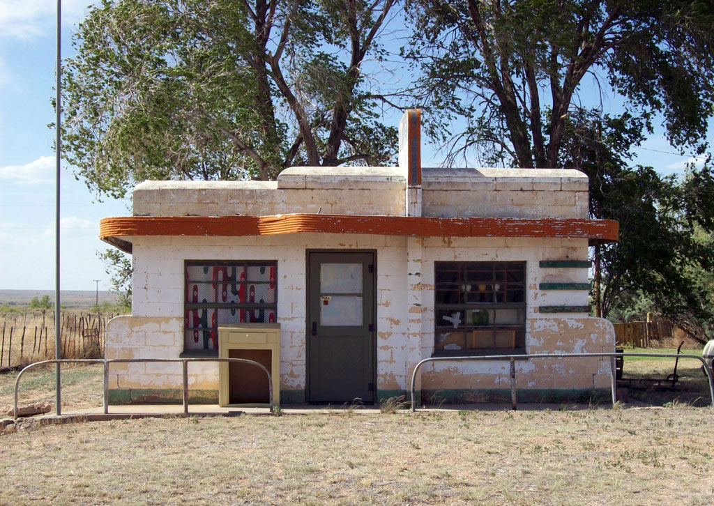 Brownlee Diner - Glenrio, Novo México