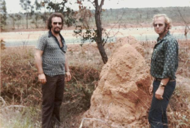 Imagem mostrada em documentário que poderia, segundo a famiília, ser dos irmãos Clarence e John Anglin no Brasil, em 1975 (Foto: Divulgação/History Channel/Arquivos da família Anglin)
