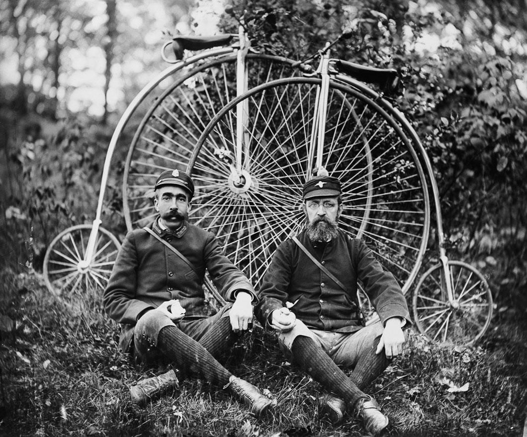 As Penny-farthing em 1890