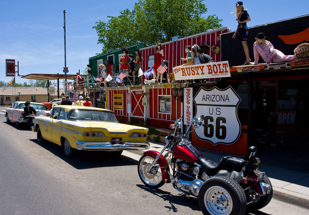 ... Patio Shop Amarillo By Route 66 A Estrada Sem Destino ...