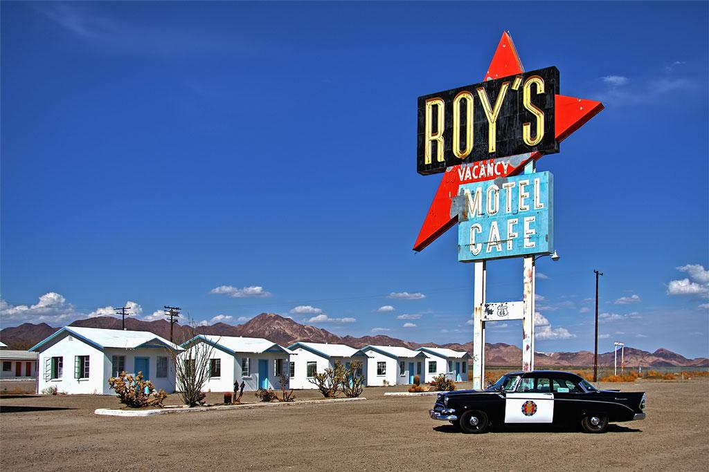 Roy's Café - Amboy, Califórnia