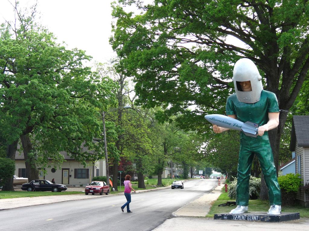 Gemini Giant - Wilmington, IIlinois