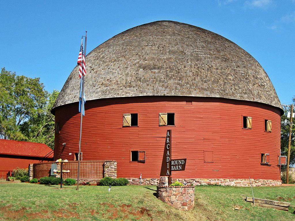 Round Barn - Arcadia, Oklaroma