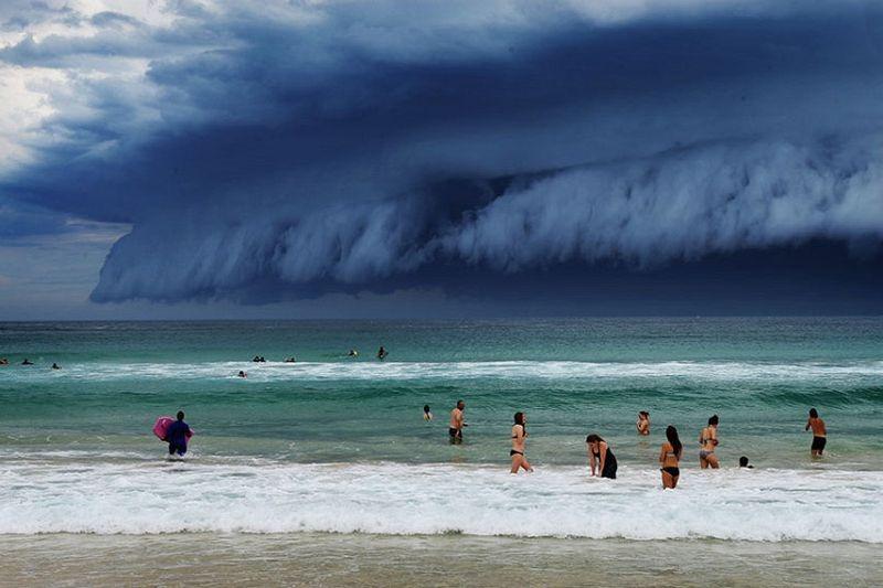 Nuvem Prateleira na Costa da Austrália | Credito da foto