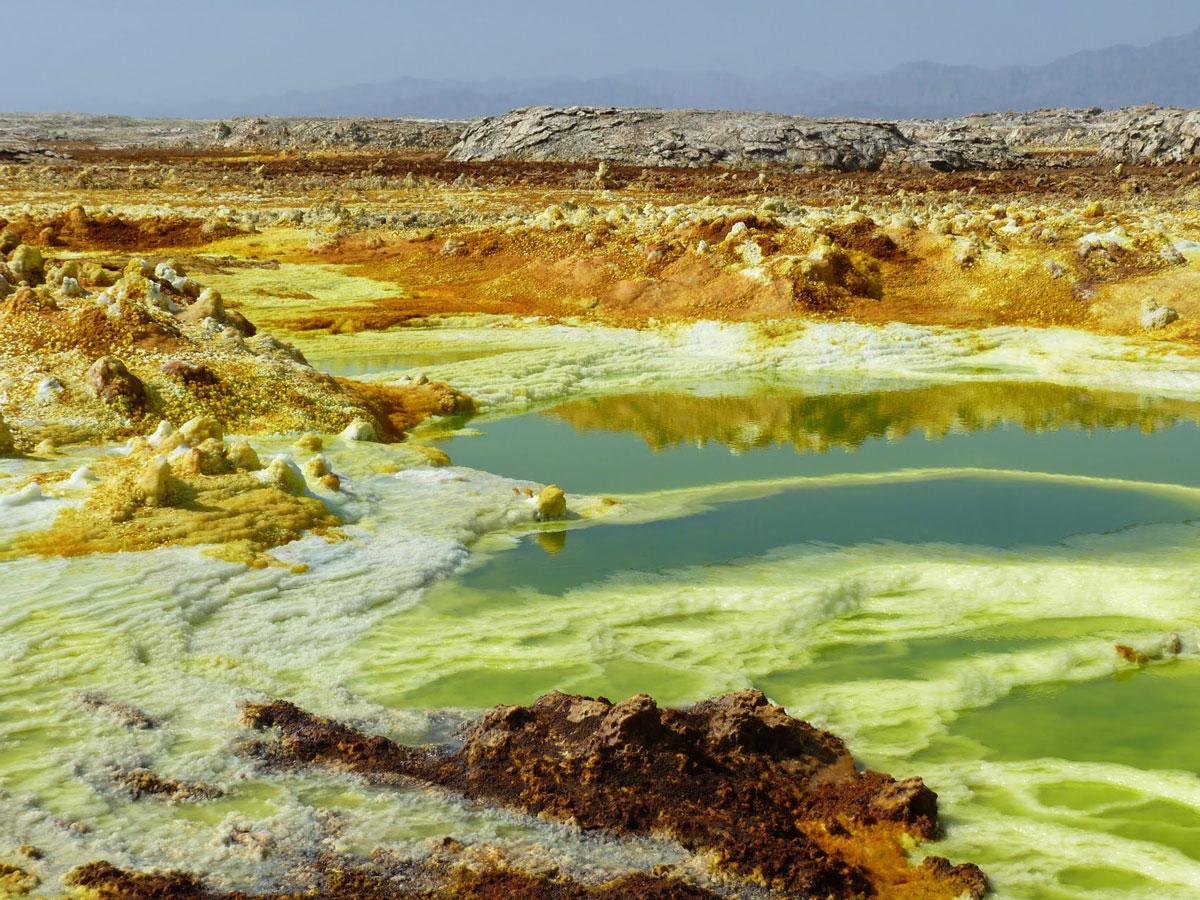 Vulcão Dallol, Etiópia