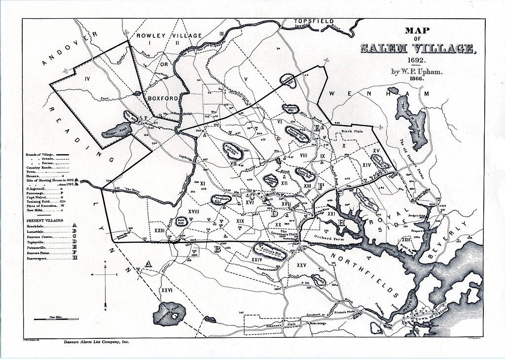 Mapa da vila de Salem de 1962 | Clique na imagem para ampliar