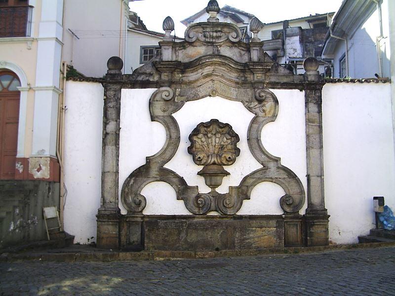 Chafariz dos Contos, em Ouro Preto, Minas Gerais