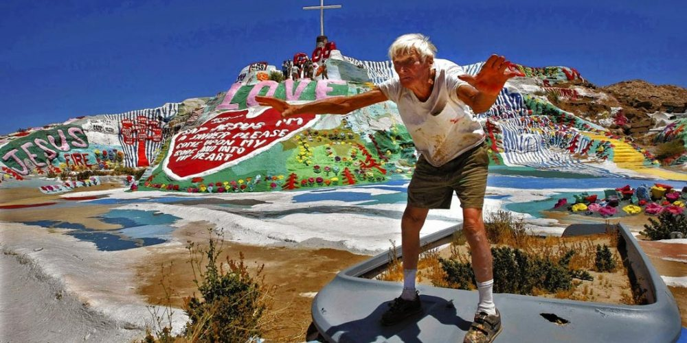 Salvation Mountain, a montanha do amor