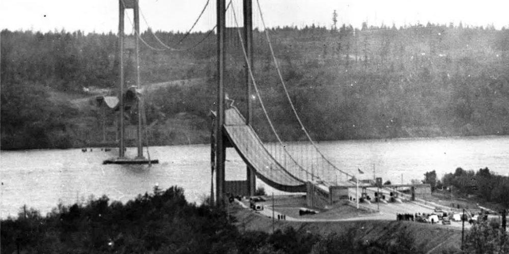 Tacoma Narrows, a ponte que desabou