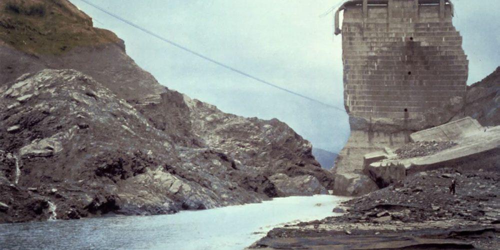 A barragem que veio abaixo