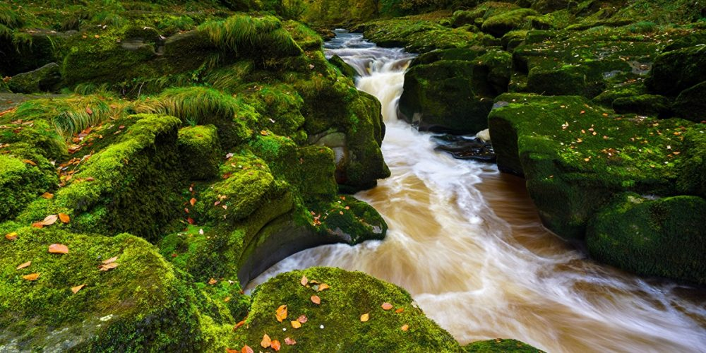 Bolton Strid, um trecho de rio engolidor de gente