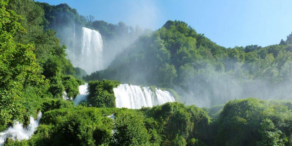 Cascata delle Marmore, a cascata feita pelos romanos
