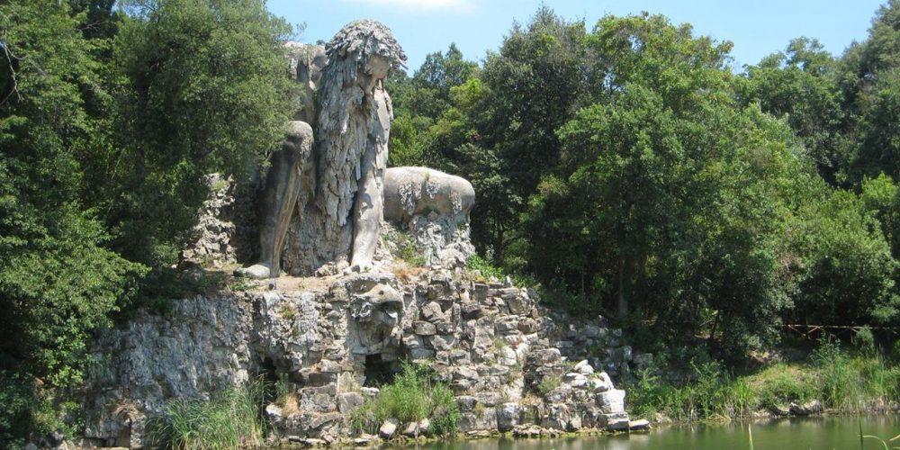 Colossus de Apeninos, o deus Apenino