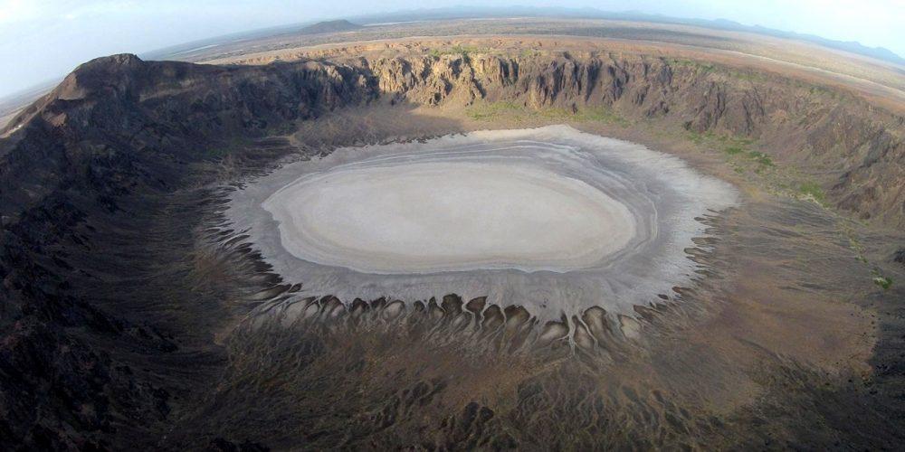 A cratera de Al Wahaba na Arábia Saudita