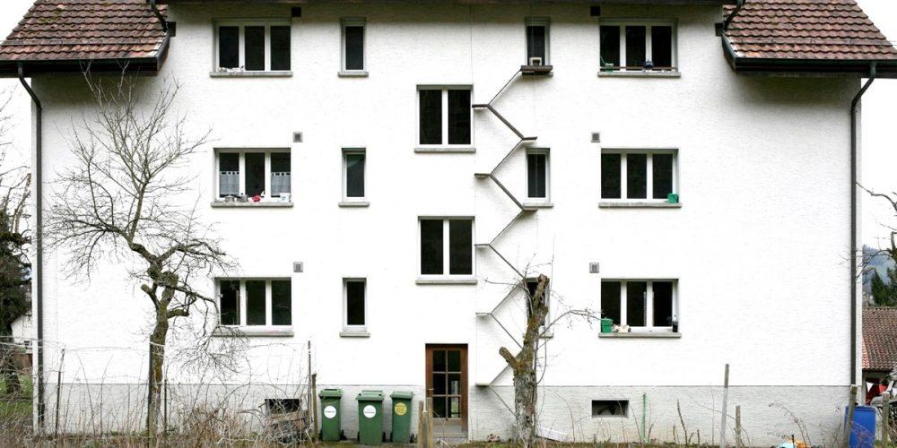 As incomuns escadas de gatos da Suíça