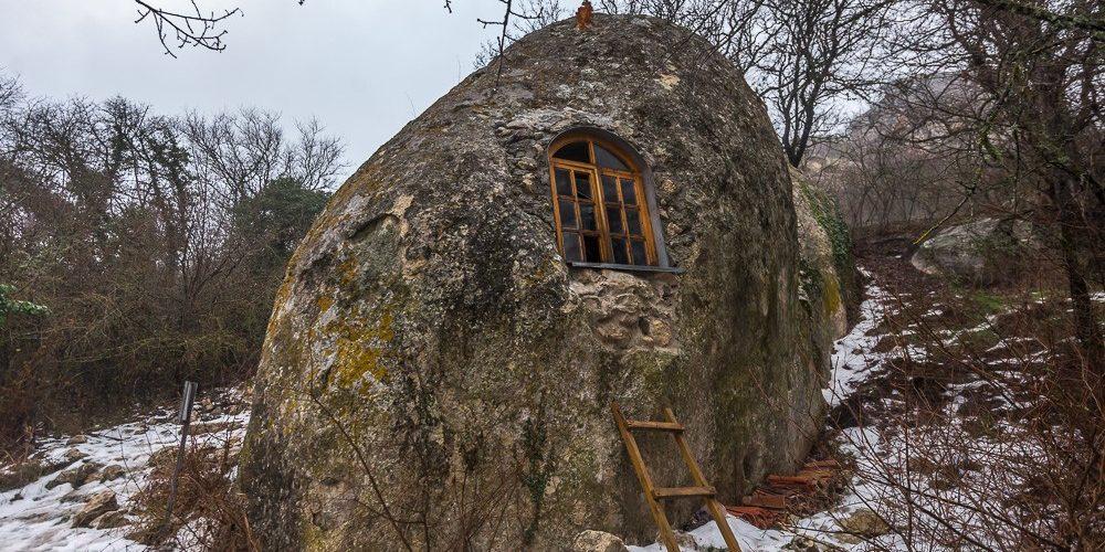Eski Kerman, a antiga cidade das cavernas