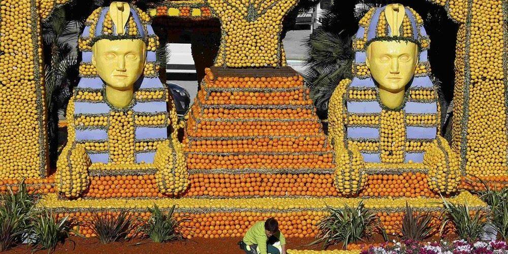 La Fetê du Citron, o festival do limão de Menton