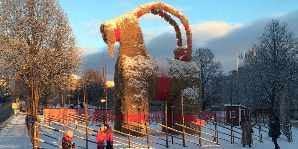Gävle Goat, a cabra vandalizada da Suécia