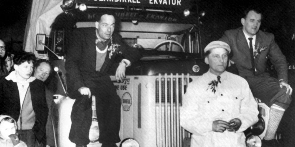 A viagem de 8.500 quilômetros de um bloco de gelo em 1959