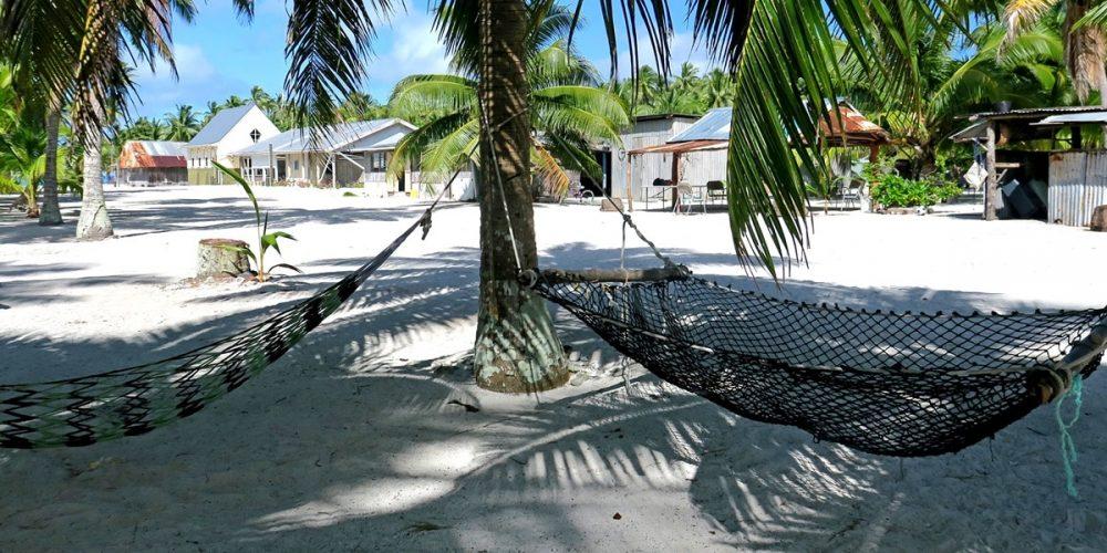 Ilha Palmerston, onde os habitantes descendem de um único homem