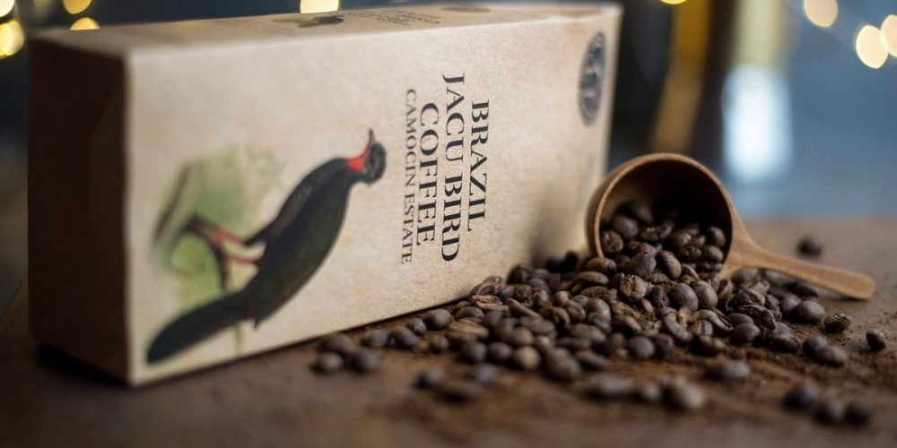 O exótico café Jacu Bird