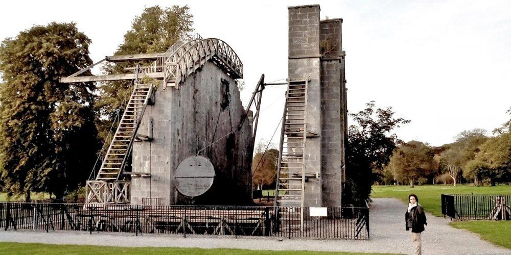 O telescópio Leviatã de Parsonstown