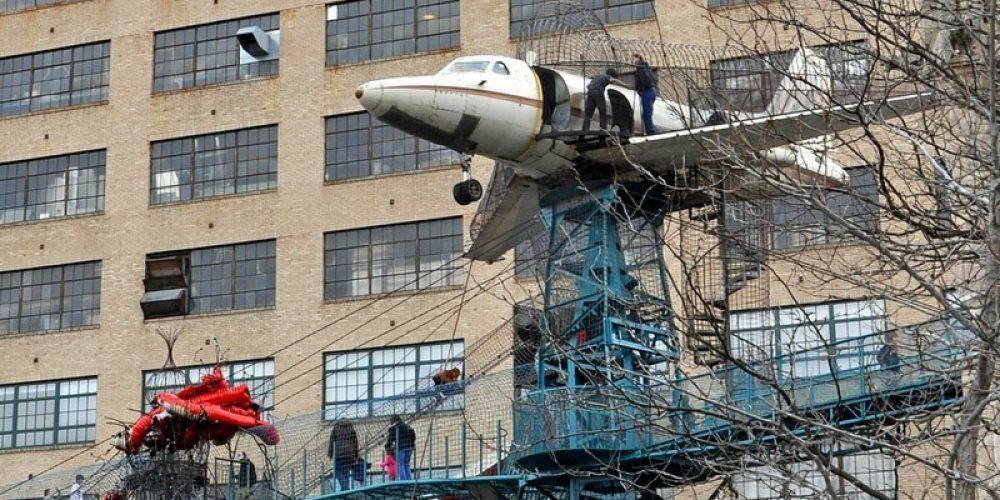 Museu da Cidade, um playground numa fábrica abandonada