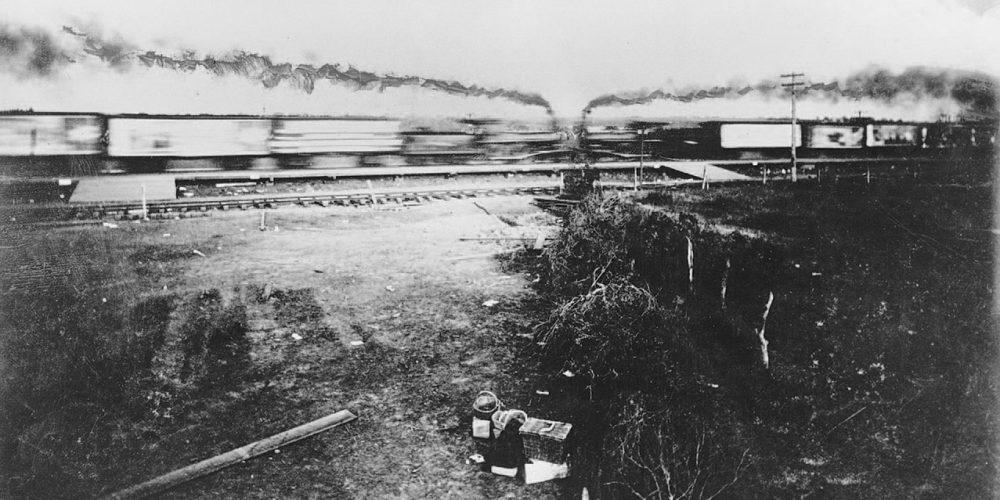 Crash at Crush, a loucura das colisões de trens nos Estados Unidos