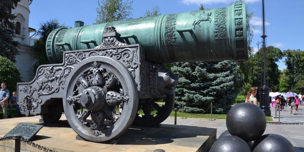 O canhão e o sino gigantes da Rússia