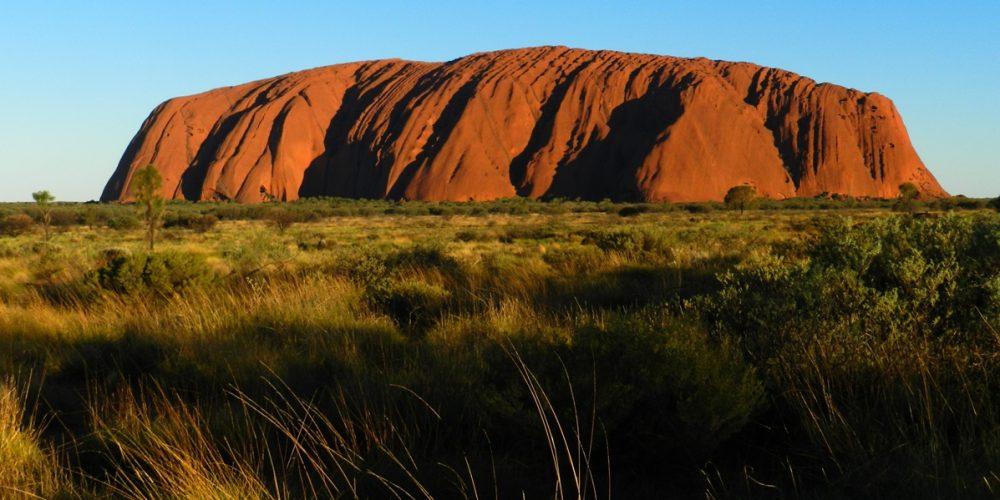 Uluru, a segunda maior pedra do planeta