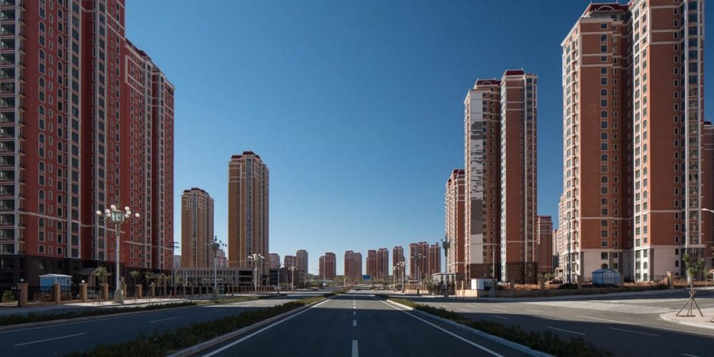 China Ghost City, um fantasma no deserto