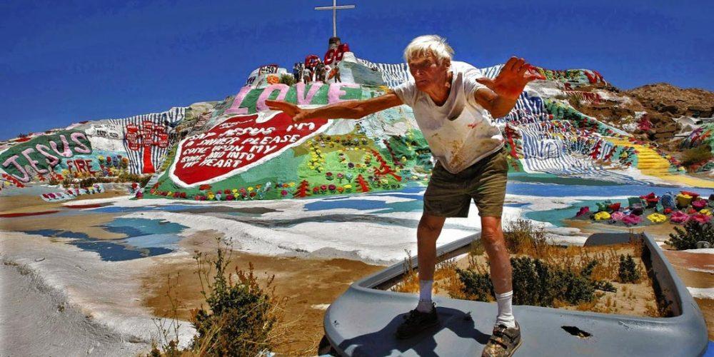 Salvation Mountain, a montanha do amor