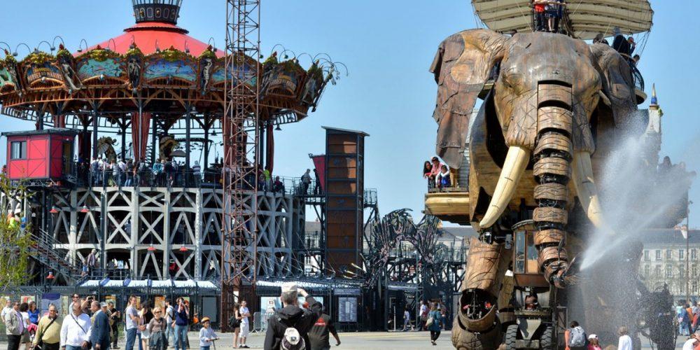 As incríveis máquinas da ilha de Nantes