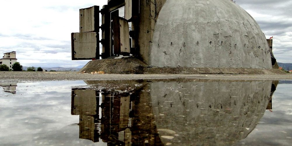Albânia, país dos bunkers