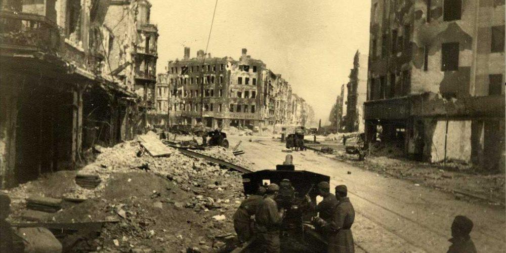 Berlim, antes e o depois de uma cidade destruída