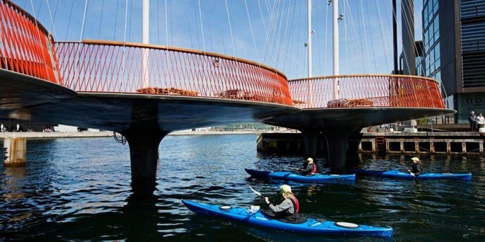 A Ponte circular de Copenhague