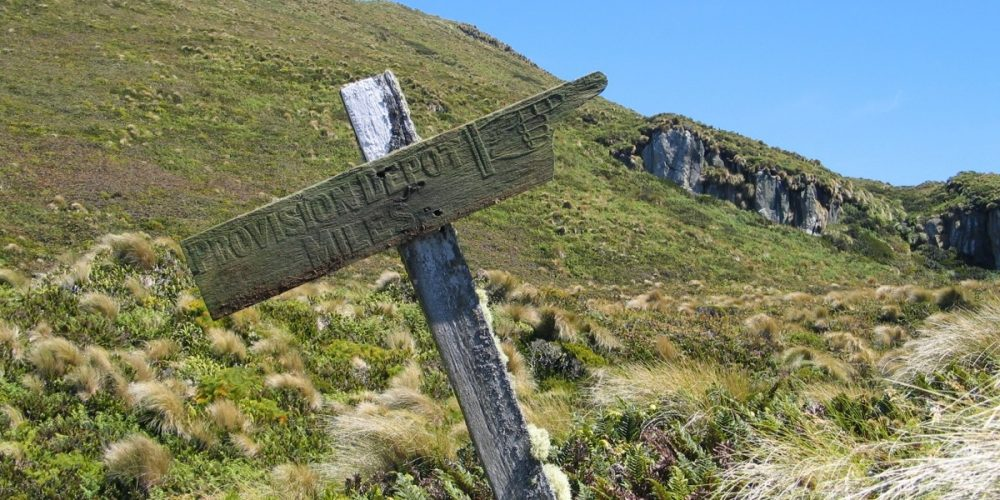 Castaway Depots, os depósitos de sobrevivência da Nova Zelândia