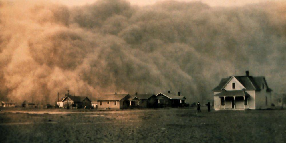 Dust Bowl, as tempestades negras de poeira