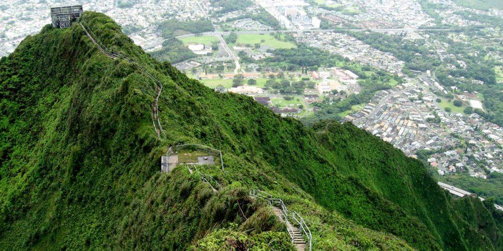 Stairway to Heaven, as escadarias Haiku do Havaí