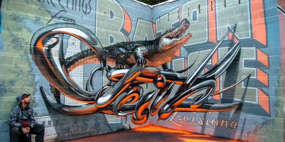 Sérgio Odeith, e seus grafites fantásticos