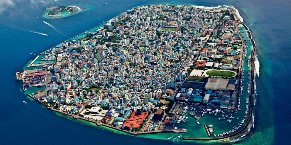Malé, a cidade no oceano