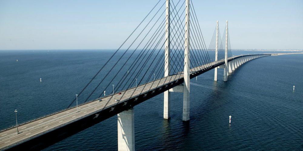 Ponte de Oresund, a ponte que mergulha no oceano