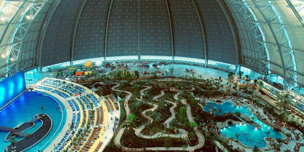 Tropical Island Resort, a maior floresta tropical coberta do mundo